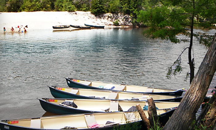 Perdido Natural Adventures - Jimmy's Grill: All-Day Canoe, Kayak, or Tube Rentals for Two, Four, or Six from Perdido Natural Adventures in Molino (Up to 59% Off)