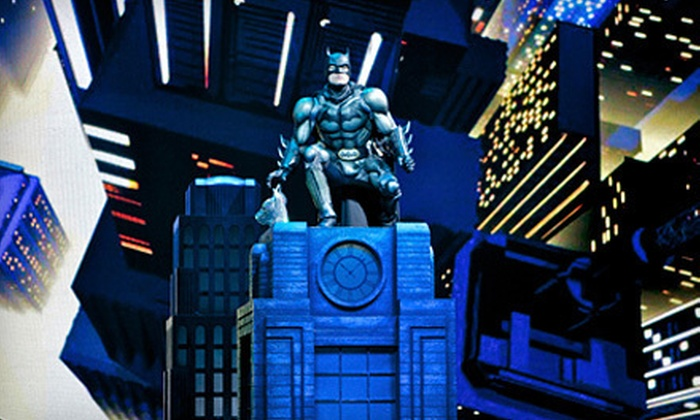 """Batman Live"" - Paradise: ""Batman Live"" at Thomas & Mack Center on October 3, 4, 5, 6, or 7 (Up to 51% Off). Two Seating Options Available."