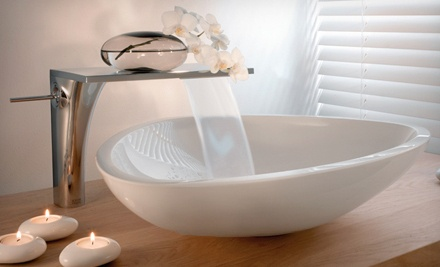 $100 Groupon for Bath and Kitchen Fixtures and Furniture - Waterhouse Bath & Kitchen Studio in Perrysburg