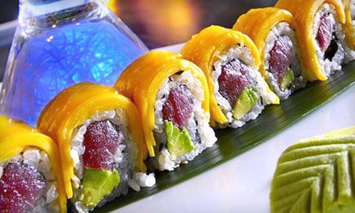 Kiraku - Fairfield Beach Area: $20 for $40 Worth of Upscale Asian Cuisine at Kiraku