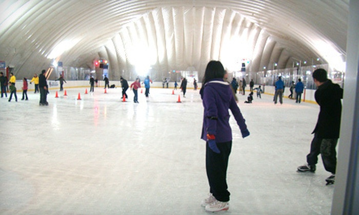 City Ice Pavilion - Sunnyside: Ice Skating for One or Two at City Ice Pavilion in Long Island City (Up to 58% Off)