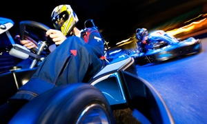 Extreme Indoor Kart Racing: Two Kart Races for Two or Family Racing Package for Four at Extreme Indoor Kart Racing (Up to 37% Off)