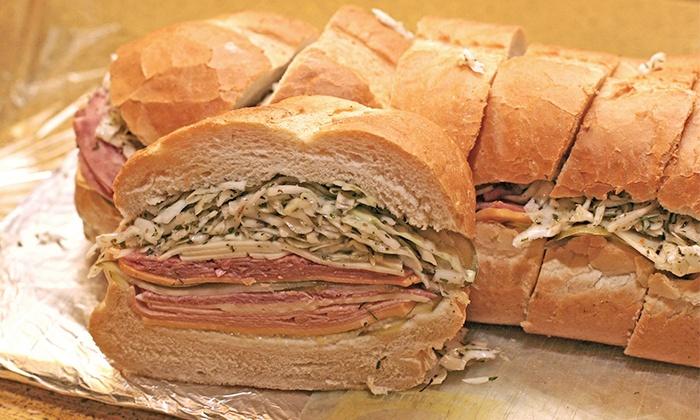 The Posh Nosh Deli - Clayton: Deli Sandwiches or Party Trays and Boxed Lunches at The Posh Nosh Deli (Half Off). Three Options Available.