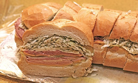 Deli Sandwiches or Party Trays and Boxed Lunches at The Posh Nosh Deli (Half Off). Three Options Available.