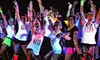 Neon Splash Dash - Texas Rangers Ballpark: $27 for Neon Splash Dash 5K Race with T-shirt and Afterparty on Saturday, September 21, at 8 p.m. ($54.95 Value)