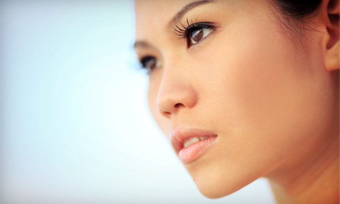 Face Enhancements - Clayton: Eyelash Extensions with Optional Fill at Face Enhancements (Up to 70% Off)