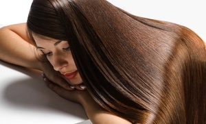 Cabana Salon: One or Two Keratin Hair-Smoothing Treatments at Cabana Salon (Up to 67% Off)
