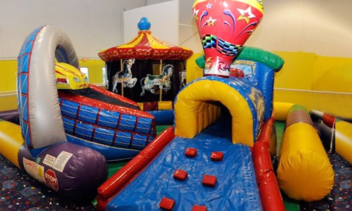 Jump!Zone - Multiple Locations: $35 for Six Open-Play Visits at Jump!Zone ($60 Value)