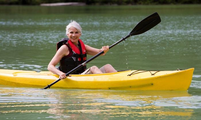 Taylorsville Lake Paddle Battle - Possum Ridge Boat Ramp: Taylorsville Lake Paddle Battle Canoe or Kayak Race on Saturday, June 7 (52% Off). Four Options Available.