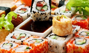Sushi and Asian Cuisine for Dinner at Sake Asian Cuisine & Sushi Bar (56% Off)