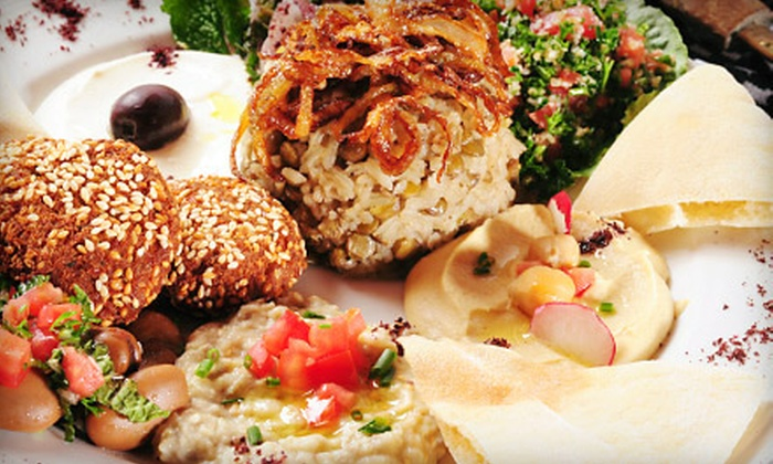 Alzain Grill - Palos Hills: Mediterranean Food for Two or Four at Alzain Grill (Up to 52% Off)