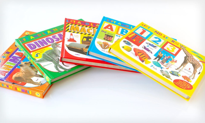 Lift and Learn Five-Book Children's Bundle: $23 for a Lift and Learn Five-Book Bundle ($64.75 List Price). Free Shipping.