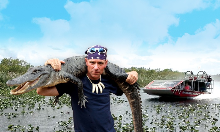 Everglades Holiday Park - Fort Lauderdale: $15 for Airboat Tour and Alligator Show from Everglades Holiday Park (Up to $25 Value)