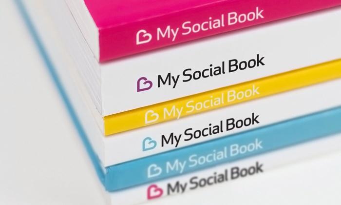 softcover facebook album my social book groupon