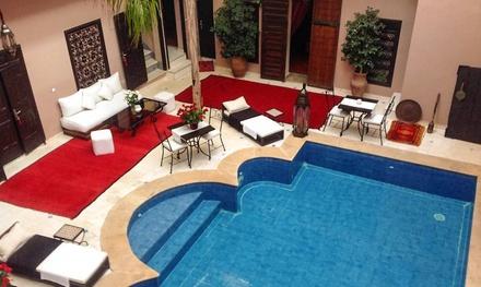 Marrakech : 1 à 7 nuits avec petit déjeuner et dîner, transfert en option au Riad Syba pour 2 personnes