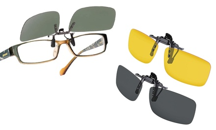 Clip per occhiali
