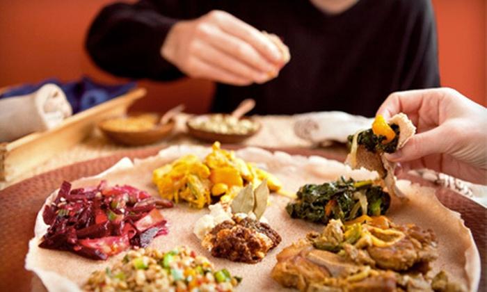Tina's Ethiopian Cafe - Provinces Master: $10 Worth of Authentic Ethiopian Fare