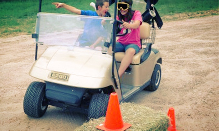 Colorado Pumpkin Patch - Castle Rock: Visit for Two or Four with Blindfolded Golf-Cart Maze or Kids' Pony Rides at Colorado Pumpkin Patch (Up to 54% Off)