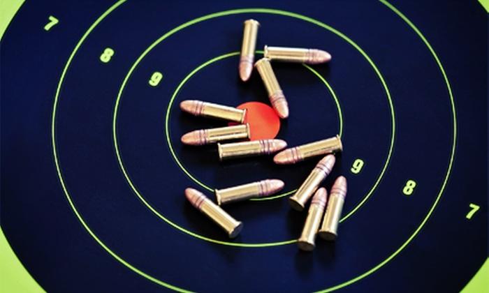 Hatfields Gunsmithing Inc. - Manassas: Firearm-Simulator Sessions at Hatfields Gunsmithing Inc. in Manassas (Up to 56%Off). Three Options Available.