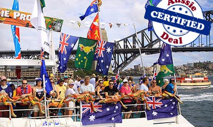 Australia day harbour cruise