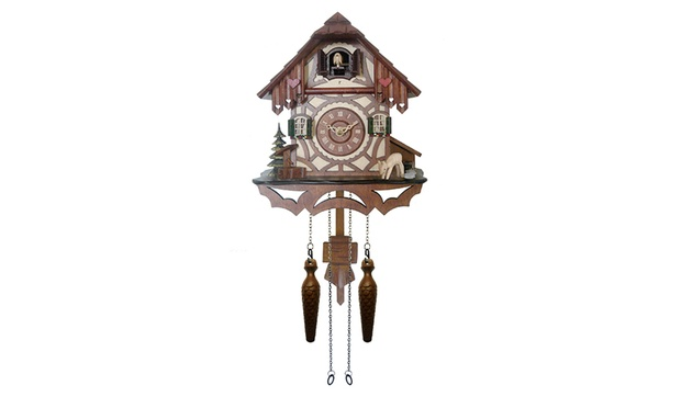 From 49 for a wooden cuckoo pendulum wall clock australia sale - Cuckoo pendulum wall clock ...