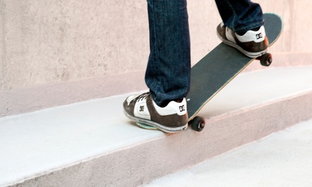 Two or Four Skateboarding, In-Line Skating, or Scooter Lessons for One or Two at Modern Skate and Surf (55% Off)