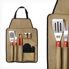 $19.99 for Chefs Kitchen Outdoor 7-Piece Barbecue Apron & Utensil Set