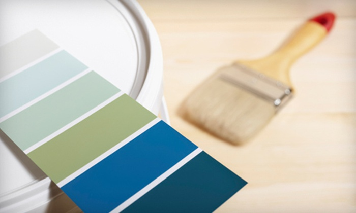 Closet Prep & Paint, Inc. - Washington DC: Painting for One or Three 12'x12' Rooms or Closet-Organization Package from Closet Prep & Paint, Inc. (Up to 78% Off)