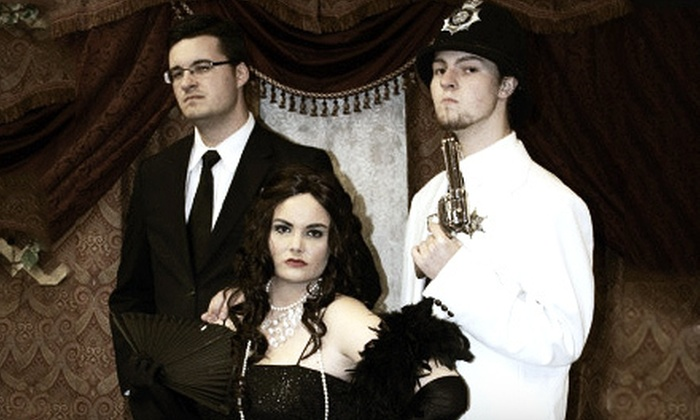 Mystery & Mayhem Theater - Sevierville: $49 for an Interactive Murder-Mystery Dinner for Two at Mystery & Mayhem Theater in Pigeon Forge ($98 Value)