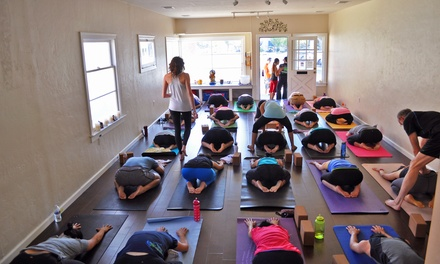 $39 for 10 Yoga Sessions at Bright Heart Yoga Studio ($140 Value)
