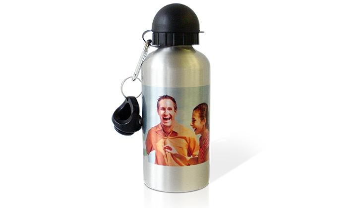 My Printing: Trinkflasche mit Flip-Deckel und Schraubverschluss zum Selbstgestalten bei snapfish für 2,99 € (80% sparen)