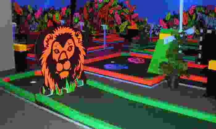 Glowgolf - Murfreesboro: Three Games of Glow in the Dark Mini Golf for Two, Four, or Six at Glowgolf in Murfreesboro (Up to 55% Off)
