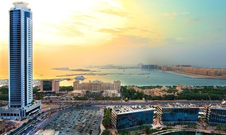 Dubai: 1-Night Stay for Four with Option for Breakfast and Lunch/Dinner at Tamani Marina Hotel and Hotel Apartments