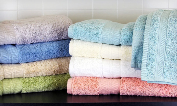 Luxury Cotton-Bamboo Blend Towel Set: $36 for a Luxury Cotton-Bamboo Blend Six-Piece Towel Set ($108 List Price). Eight Colors Available. Free Shipping.
