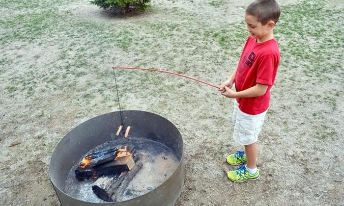 Firebuggz fire fishing poles groupon goods for Fire fishing pole