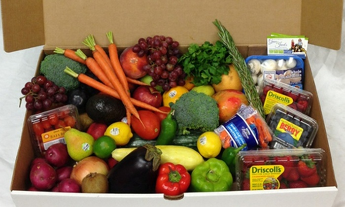 Grace & Jewel's - Bakersfield: One, Three, or Five Fruit and Veggie Gift Boxes at Grace & Jewel's (Up to 52% Off)