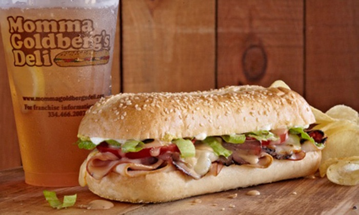 Momma Goldberg's Deli - Multiple Locations: Catered Sandwich Meals for 6 or 10 or $25 for $50 Worth of Catered Deli Food from Momma Goldberg's Deli