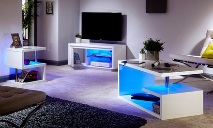 High-Gloss Living Room Furniture