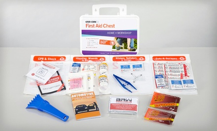 groupon daily deal - Winter-Survival First-Aid Kit