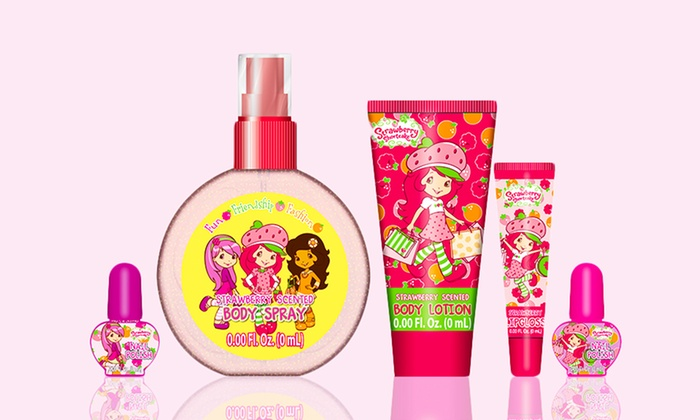 $9.99 for a Strawberry Shortcake Beauty Bundle with Beauty Set and Flavored Lip Balms