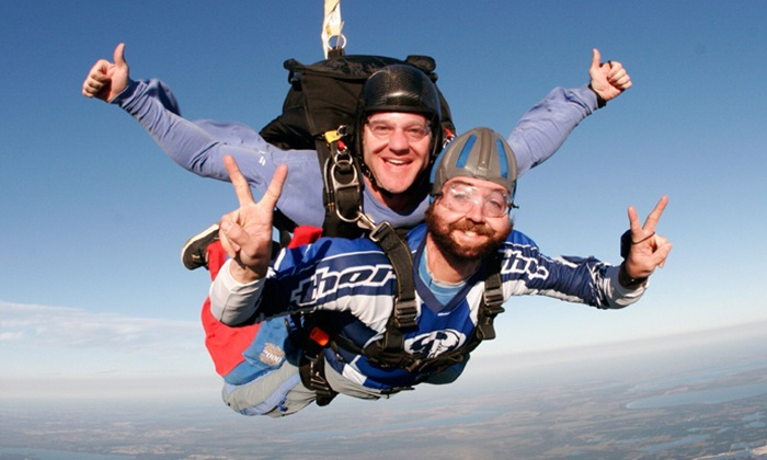 World Skydiving Center - Squires Aviation Ranch: Skydiving for One or Two from World Skydiving Center (Up to 37% Off)
