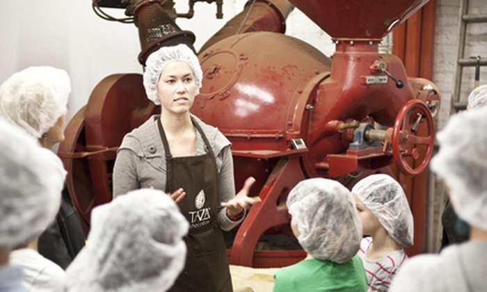 Taza Chocolate - Union Square: $8 for a Factory Tour for Two with Take-Home Chocolate at Taza Chocolate ($14.50 Value)
