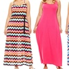 Extra Touch Women's Plus-Size Maxi Dresses