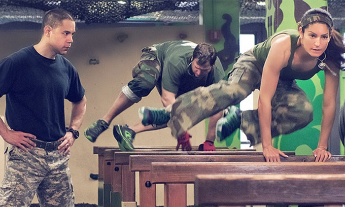 Pure Power Boot Camp - Jericho: 5 or 10 Military-Style Boot-Camp Classes and a T-shirt at Pure Power Boot Camp (Up to 84% Off)
