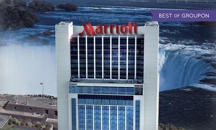 Stay with Breakfast, Winery Tours, and Dining at Marriott Gateway on the Falls in Niagara Falls, ON. Dates into April.
