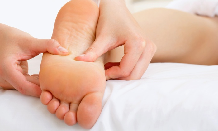 Sandy's Massage - North End: $59 for a 75-Minute Foot Treatment at Sandy's Massage ($95 Value)
