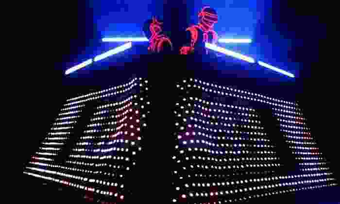 One More Time - A Daft Punk Tribute or Who's Bad - The Ultimate Michael Jackson Tribute Band - Saint Andrew's Hall: Daft Punk or Michael Jackson Tribute at Saint Andrew's Hall on August 14 or 22 (Up to 63% Off)