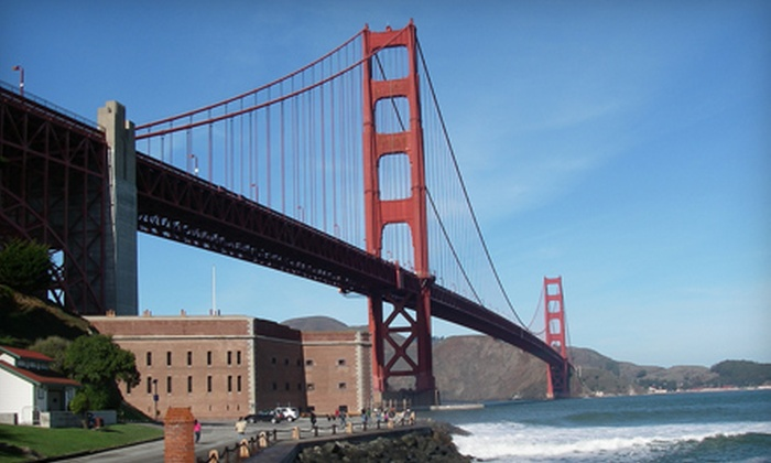 City By The Bay Tours for San Francisco - Downtown: San Francisco Minibus Tour for One, Two, or Four Adults from City By The Bay Tours for San Francisco (Up to 60% Off)