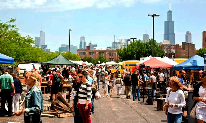 Randolph Street Market - West Loop: Two-Day Visit for Two or Green Season Pass for Two at Randolph Street Market (Up to 50% Off)