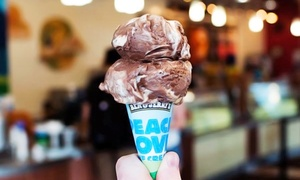 Ben & Jerry's at the Mohegan Sun: Ice Cream at Ben & Jerry's at Mohegan Sun at Pocono Downs (Up to 50% Off). Three Options Available.